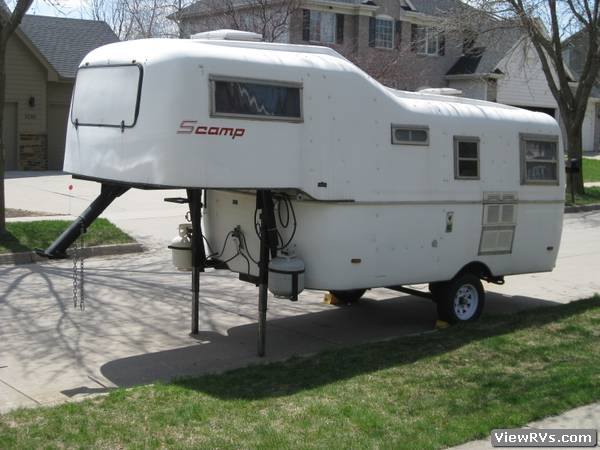 1983 Scamp 5th Wheel 19 Wheel Trailer A Viewrvs Com