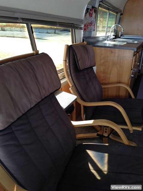 1955 Flxible Vistaliner Bus Conversion  A