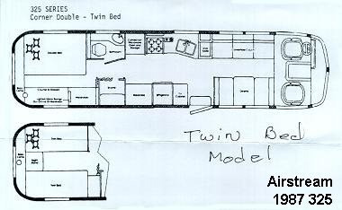 Freds Airstream Archives Motorhome Class A Floorplans