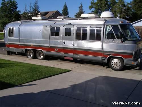 Airstream Motorhomes Model 345 Classic  RV Classifieds