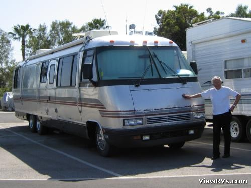 1994 airstream classic 36 motorhome class a d for Classic house 1994