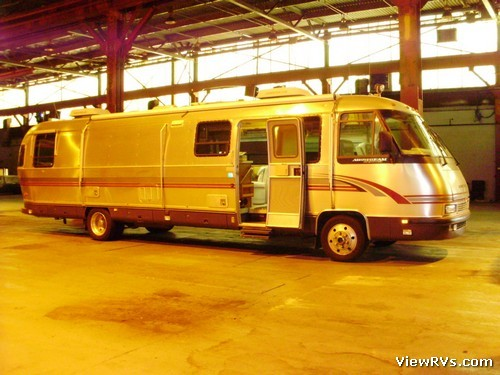 Viewrvs Com 1995 Airstream 36 Classic 36 Motorhome