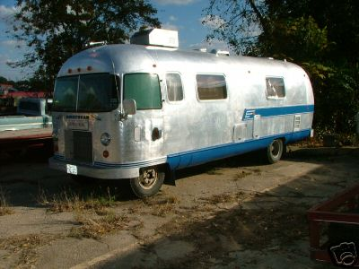 Fred's Airstream Archives - 1970 Motorhome conversion Classic Motor Home