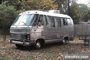 Viewrvs Com 1977 Airstream 20 Motorhome A