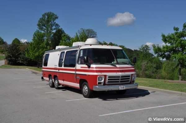 1976 gmc palm beach 26 39 motorhome a for sale. Black Bedroom Furniture Sets. Home Design Ideas