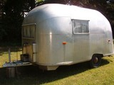 1957 Airstream Bubble Travel Trailer