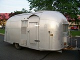 1958 Airstream Travel Trailer Globe Trotter