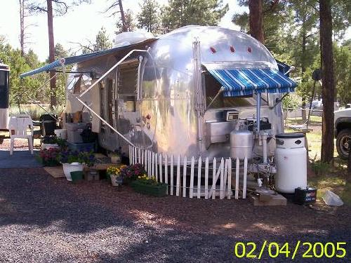 1962 Airstream Sovereign Travel Trailer
