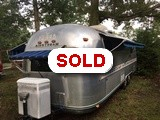 1981 Airstream Excella II 27' travel trailer
