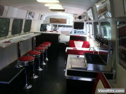1997 Airstream Custom Diner Trailer A Viewrvs Com