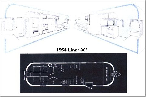 Airstream Trailer Floorplans Land Yacht Floorplan