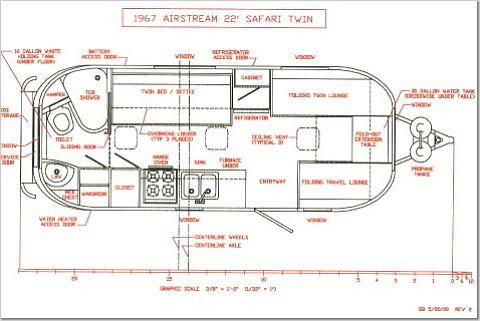 Airstream Trailer Floorplans Land