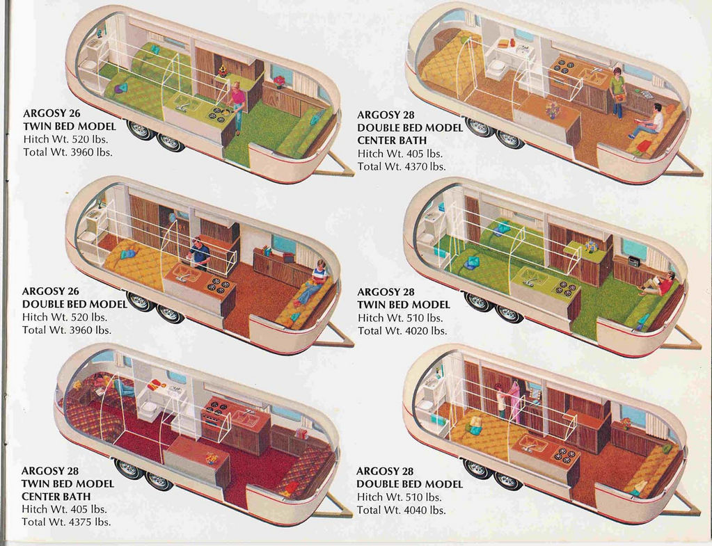 Airstream Trailer Floorplans Land Yacht Floorplan Wiring Diagram For 1977 Argosy 26 28