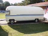 airstream argosy prototype front steer trailer