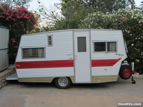 1966 Aristocrat Lo-Liner Travel Trailer. Related Images