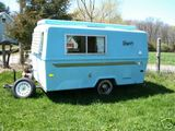 1972 Hunter Compact Jr Travel Trailer (A)