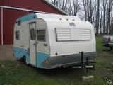 1974 Serro Scotty HiLander 15' Travel Trailer (A)