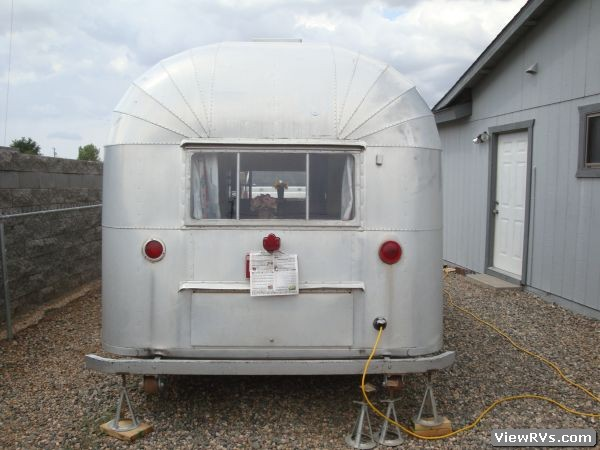 1955 Silver Streak M4 19 19 Travel Trailer A