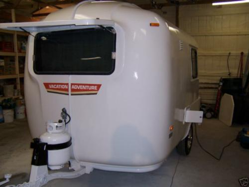 1984 U-Haul travel trailer 13' Fiberglass