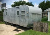 1957 Yellowstone 22' Camper Trailer